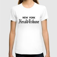 T-shirts featuring New York Herald Tribune! Breathless / a bout de souffle by AdrienneD