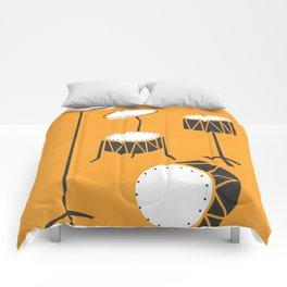 Drum Kit Drummer Comforters