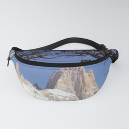 Fitz Roy Mountain Landscape (Patagonia, South America) Fanny Pack