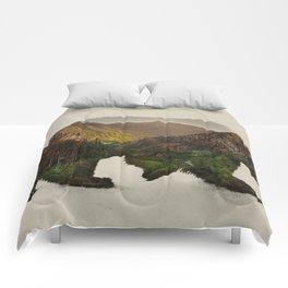 North American Brown Bear Comforters