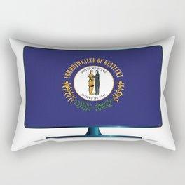 Kentucky Flag TV Rectangular Pillow