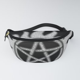Carry On Supernatural Pentacle Fanny Pack