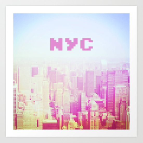 NYC Invaders Art Print