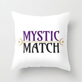 Mystic Match Throw Pillow