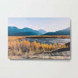 Alaskan Autumn - Kenai Fjords National Park Metal Print