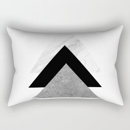 Triangles in the row Rectangular Pillow