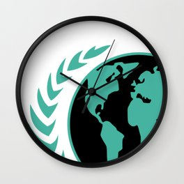 United Earth Government Wall Clock