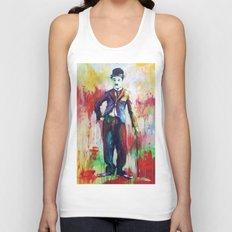 Charlie Chaplin Unisex Tank Top