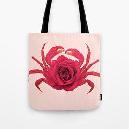 ROSE CRAB Tote Bag