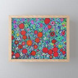 S fragrant flower forest Framed Mini Art Print