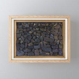 Strata 01 Framed Mini Art Print