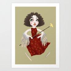 Winged Queen Art Print