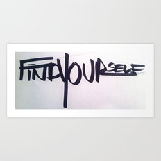 Fy Art Print