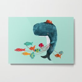 My Pet Fish Metal Print