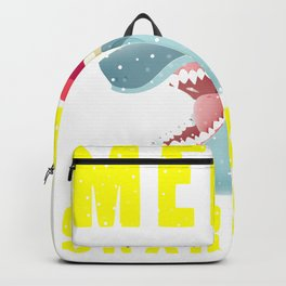 20% OFF! Merry Sharkmas Funny Shark 2020 T Shir Backpack