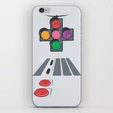 N Street Traffic Light iPhone & iPod Skin