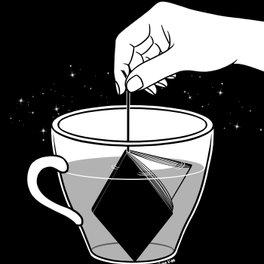 Metal Travel Mug - A Cup of Book - Henn Kim
