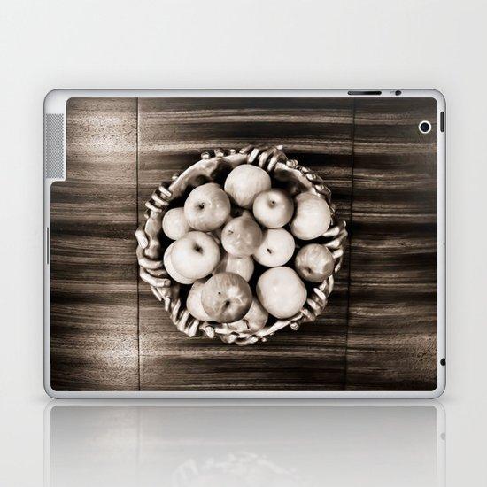 Bowl of apples Laptop & iPad Skin