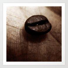 Coffee island Art Print