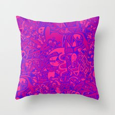 aamu Throw Pillow