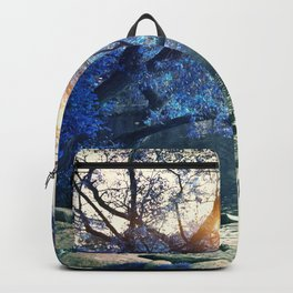 Hope in blue Backpack