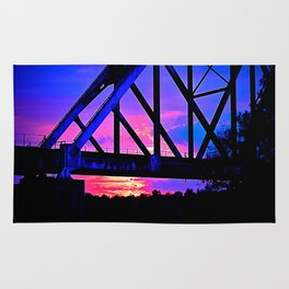 Bridge Sunset Rug