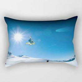 Snow time Rectangular Pillow