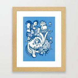 ILLOGICAL MADNESS Framed Art Print