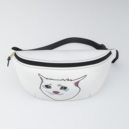 Crying Cat Fanny Pack