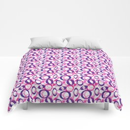 Oblong Pattern Comforters