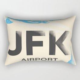 JFK stylish airport code Rectangular Pillow