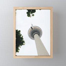 Berlin TV Tower Framed Mini Art Print