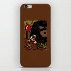 La cage du gorille iPhone & iPod Skin