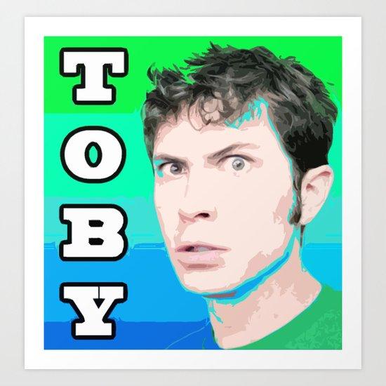Toby Art Print