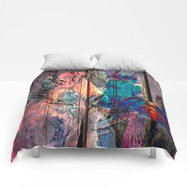 Two fighters Comforters