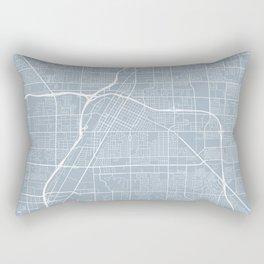 Las Vegas Map, USA - Slate Rectangular Pillow