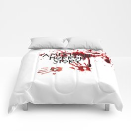 DRIPPED IN BLOOD HANDS Comforters