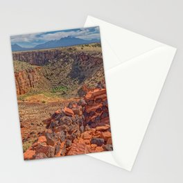 Citadel Ruins in Wupatki National Monument. Stationery Cards