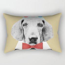 Doggy Pooh the Clown Rectangular Pillow