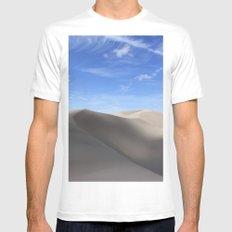 Dunes Mens Fitted Tee MEDIUM White