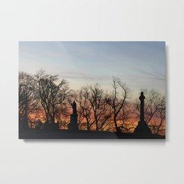April sunset Metal Print