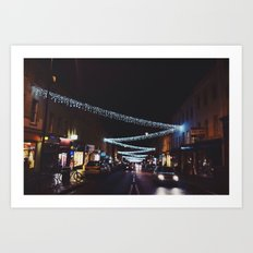 winter in the city Art Print