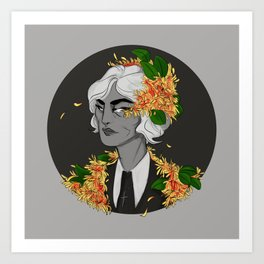 witch hazel Art Print