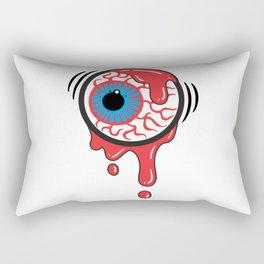 Bloody Eyeball Rectangular Pillow