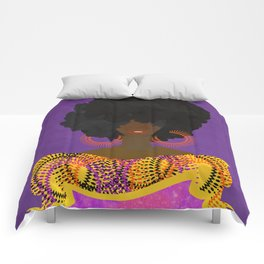 CULTURALLY SUPREME Comforters