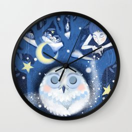 Winter Dream Wall Clock