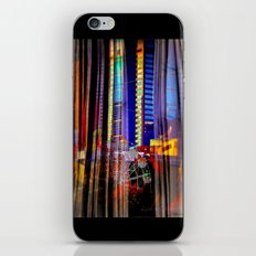 Behind the curtain 4 (Melbourne downtown) iPhone & iPod Skin