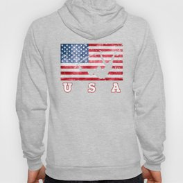 USA Pole Vault - Flag of America Hoody