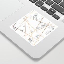 Marble Geometry 054 Sticker