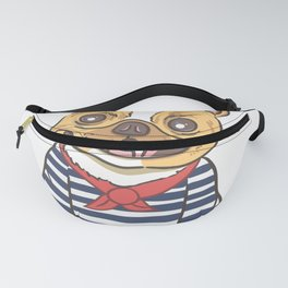 French Sailor Fanny Pack